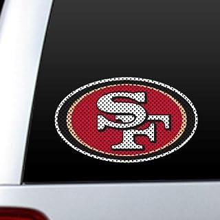 Fremont Die NFL San Francisco 49ers Die Cut Window film Fremont Die Inc. 46105