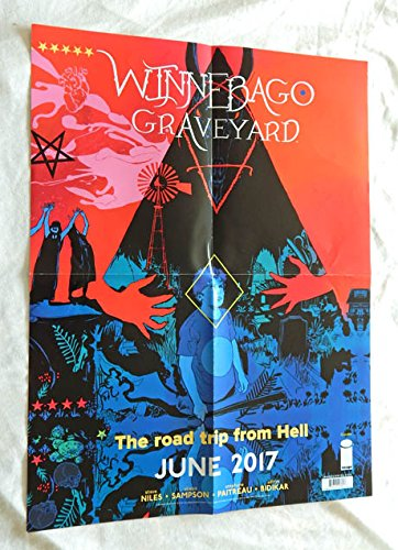 Winnebago Graveyard Folded Promo Poster 18 Inches X 24 Inches - Image Comics 2017 - 9.8 Graded BY Me The SELLER - UNCIRCULATED Poster. (Poster Promo Folded)