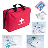 Outdoor First Aid Kit Bag 200 pieces Portable for Camping Hiking Boating Fishing Hunting