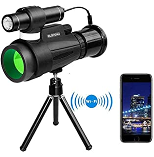 Aliynet Night Vision Monocular with WiFi Connect with iOS and ...