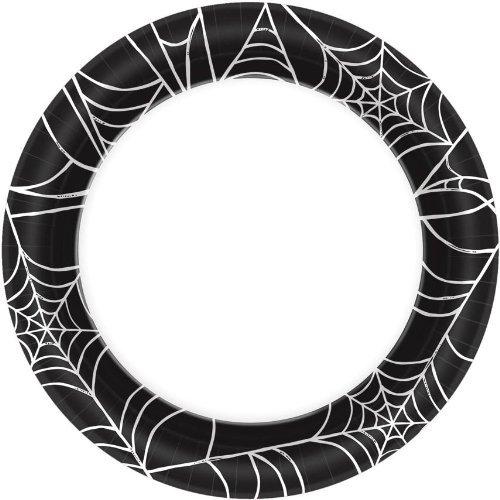 Spider Web Dessert Plates, 6 3/4