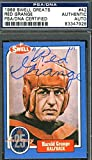 Red Grange Authenticated Signed 1988 Swell Autograph - PSA/DNA Certified - Baseball Slabbed Autographed Cards