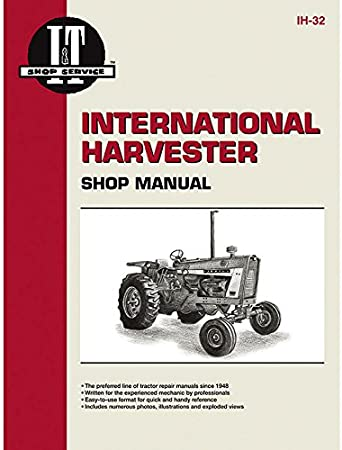 [DIAGRAM_09CH]  Amazon.com: Complete Tractor New 1715-2022 Service Manual Compatible  with/Replacement for Case/International Tractor IH-32 1206,1256,1456,21206,21256:  Garden & Outdoor | Ih 1456 Wiring Diagram |  | Amazon.com