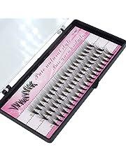 60 Pcs False Eyelashes Clusters Fake Eye Lashes Grafting Eyelashes Extension 14 mm