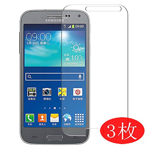 【3 Pack】 Synvy Screen Protector for Samsung Galaxy Beam2 G3858 Beam 2 TPU Flexible HD Clear Case-Friendly Film Protective Protectors [Not Tempered Glass]