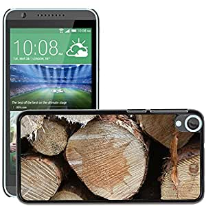 Etui Housse Coque de Protection Cover Rigide pour // M00150646 Madera Troncos Forestal Acerca de // HTC Desire 820