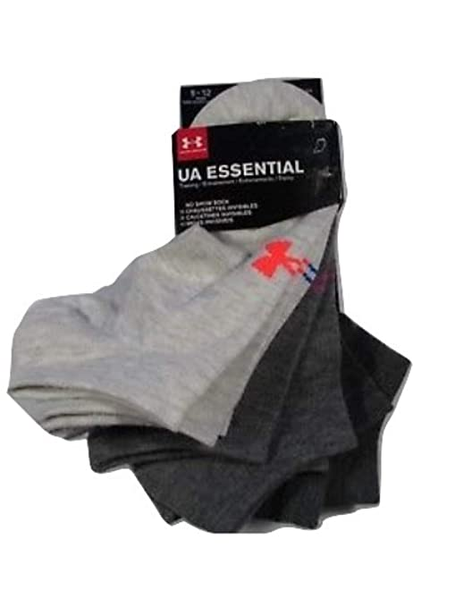 d0231a5730 Under Armour Women`s UA Big Logo No Show Socks 6-Pack (Large