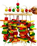 1381 Huge Bone Bridge Bird Toy parrot toys cages african grey macaw cockatoo