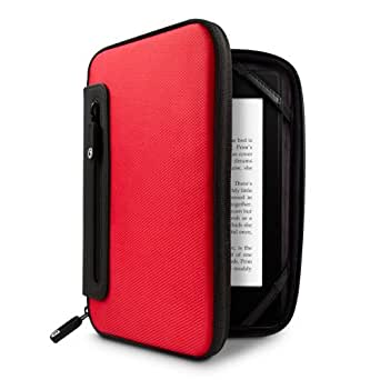 Marware Jurni for Kindle, Kindle Touch, & Kindle Paperwhite (Red/Black)