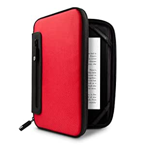 Marware jurni - Funda para el Kindle, color rojo/negro (sirve para Kindle Paperwhite, Kindle y Kindle Touch)