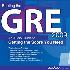 Beating the GRE 2009 Audiobook