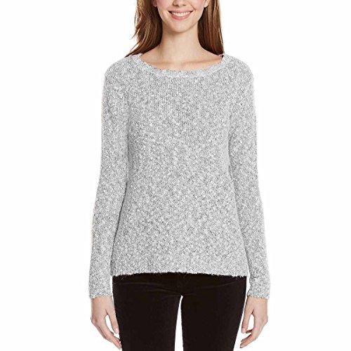 Buffalo David Bitton Ladies' Textured Sweater (Grey, - Outlet Prime Buffalo