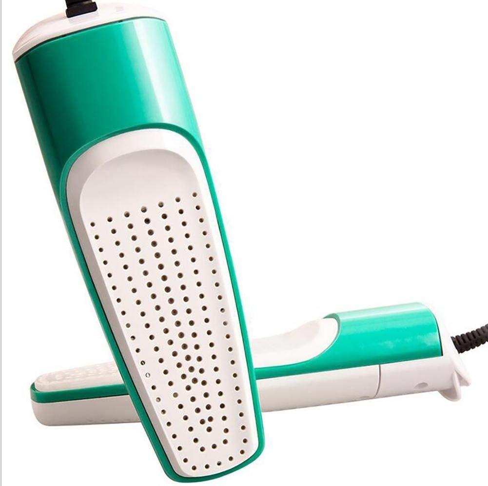 HEMFV Retractable Shoe Dryer, Dry Shoe Device, Adult Children Drying Shoe Machine to Remove Odor, Green