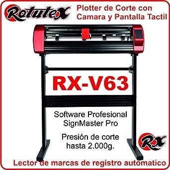 PLOTTER DE CORTE PROFESIONAL ROTUTEX V63 AUTOMATICO: Amazon.es: Industria, empresas y ciencia