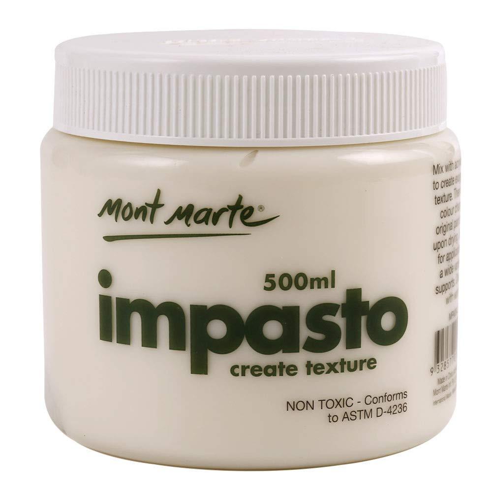 Mont Marte Impasto Acrylic Medium 500ml (17oz)