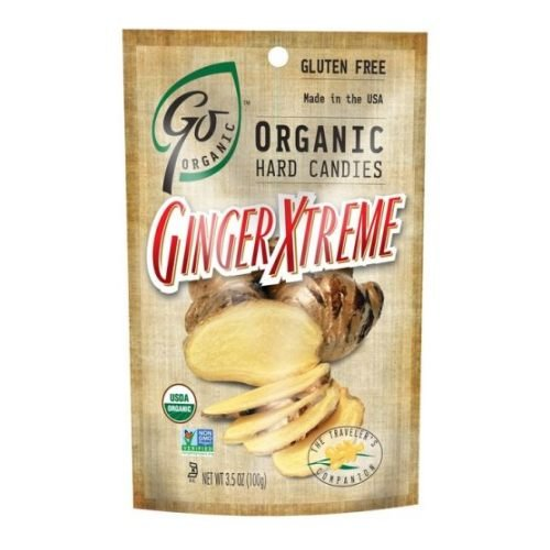 Go Organic Ginger Xtreme Hard Candy, 3.5 Ounce - 6 per case. by Go Organic