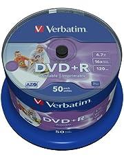 Verbatim 43512 - DVD+R vírgenes (50 Unidades)