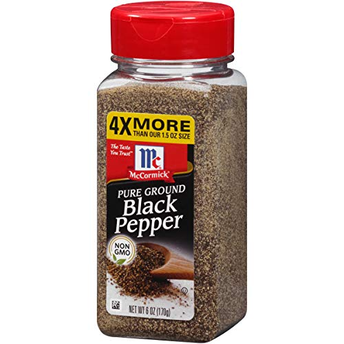 (McCormick Pure Ground Black Pepper, 6 oz)