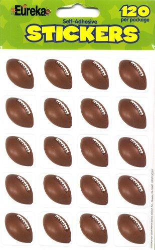Eureka Photo Football Stickers