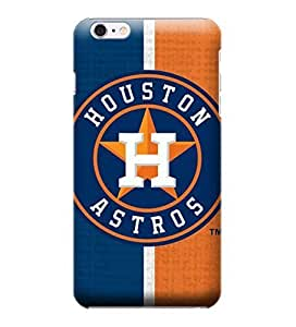 iPhone 6 Plus Case, MLB - Houston Astros Split - iPhone 6 Plus Case - High Quality PC Case by ruishername