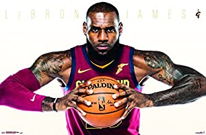 "Trends International Cleveland Cavaliers-Lebron James Wall Poster, 22.375"" x 34"""