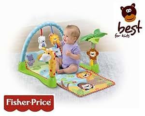 Fisher price p7977 alfombra de actividades dise o jungla beb - Alfombra actividades bebe ...