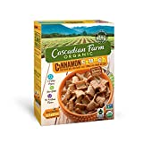 Cascadian Farm Organic Cereal, Cinnamon Crunch, Whole Grain Cereal, 9.2 oz (Pack of 10)