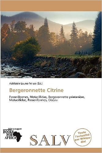 Livres Bergeronnette Citrine epub, pdf