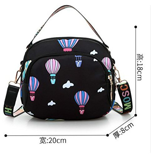 Lxydbb Phone Diagonal Cross Shoulder Flower Bag Tide Nylon Slung Female Oxford Mobile Cloth ZZqUwrdx