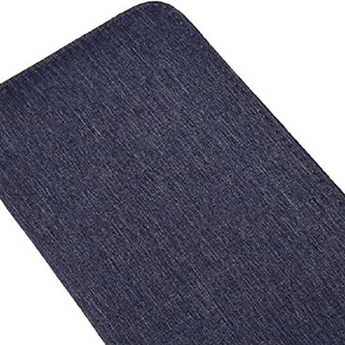 MagiDeal Herren Handtasche Männer Reise Brieftasche Reisepass Kreditkarten Halter | Kleine mit Reißverschluss Tasche | Geldbörse Smartphone Handyhülle Tasche Grau Exe1KNfFG