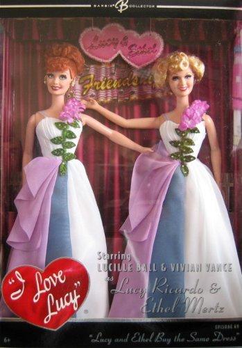 ¡No dudes! ¡Compra ahora! Barbie - Lucy and Ethel Buy the Same Dress Dress Dress Giftset - Episode 69 by Mattel (English Manual)  barato en línea