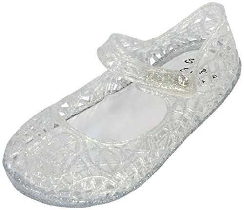 b67933417 Stepping Stones Girls Mary Jane Jelly Closed Toe Bird Nest Sandals