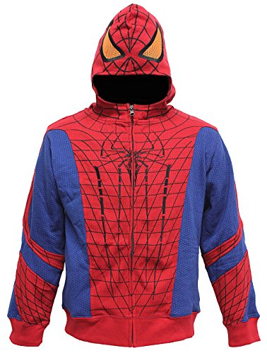 Amazing Spiderman Costume Juvenile Hoodie Small_4
