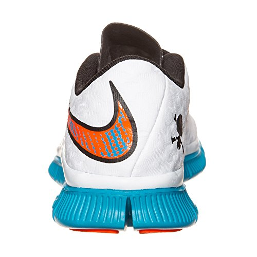 NikeFree Hypervenom (Gs) - zapatillas de fútbol Niños-Niñas weiãÿ/blau/orange