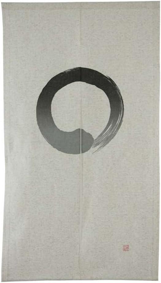 Pine Needles by Ayako Kugimaru  Handworks Fabric Japanese cotton linen SL10075S-B orange