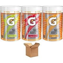 Gatorade Thirst Quencher Powder 3 Flavor Variety (24 Packs)