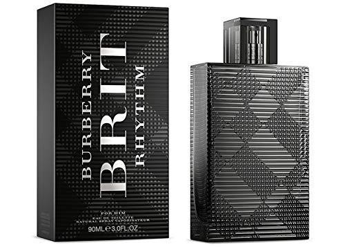 Burbërry Brit Rhythm Cologne for Men 3.0 oz Eau De Toilette Spray