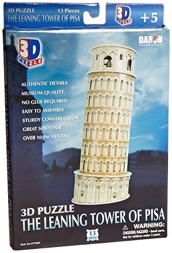 Leaning Tower Of Pisa - Daron Leaning Tower of Pisa 3D Puzzle 13-Piece