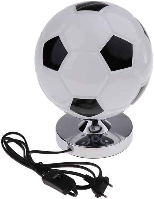 LOVIVER Creativo Balón de Fútbol Escritorio Lámpara de Mesa con ...
