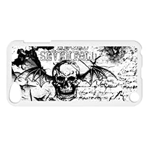 CTSLR Music; Singer Series Protective Snap-on Hard Back Diy For Iphone 6Plus Case Cover Generation - 1 Pack - Avenged Sevenfold A7X - 21