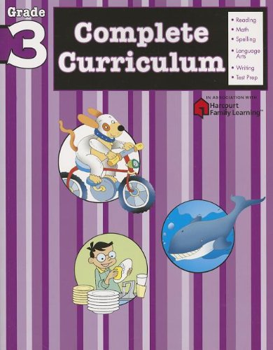 Complete Curriculum: Grade 3 (Flash Kids Harcourt Family Learning) ()