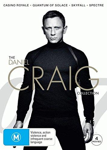 Casino Royale / Quantum of Solace / Skyfall / Spectre | 4 Discs | NON-USA Format | PAL | Region 4 Import - Australia