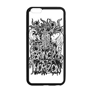 Fashion Bring Me to The Horizon Protective Rubber Gel Coated Case Cover for iPhone 6 Plus Kimberly Kurzendoerfer