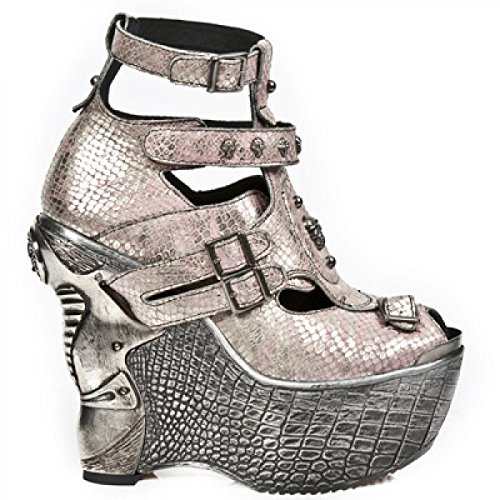 New Rock Boots M.pz004-c14 Elegante Urban Rock Damen Sneeker Rosa