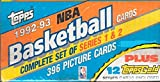 1992 1993 Topps NBA Basketball Factory Sealed Set with Shaquille O'Neal Rookie Card #362 Plus 12 Bonus Gold Cards