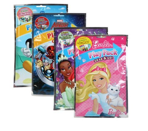 Bazic - Disney Grab And Go - Playpacks (Pack 24)