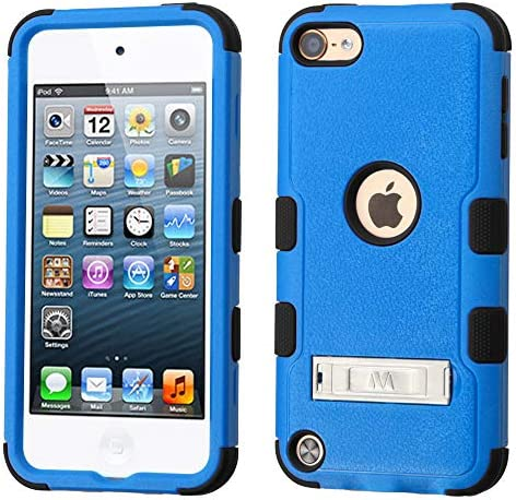 Ver #2 2015 2019 MYTURTLE iPod Touch 7th 6th 5th Generation Case Shockproof Hybrid Hard Silicone Shell Impact Cover with Screen Protector for iPod Touch 7 iPod Touch 5//6 Ball Sports Football