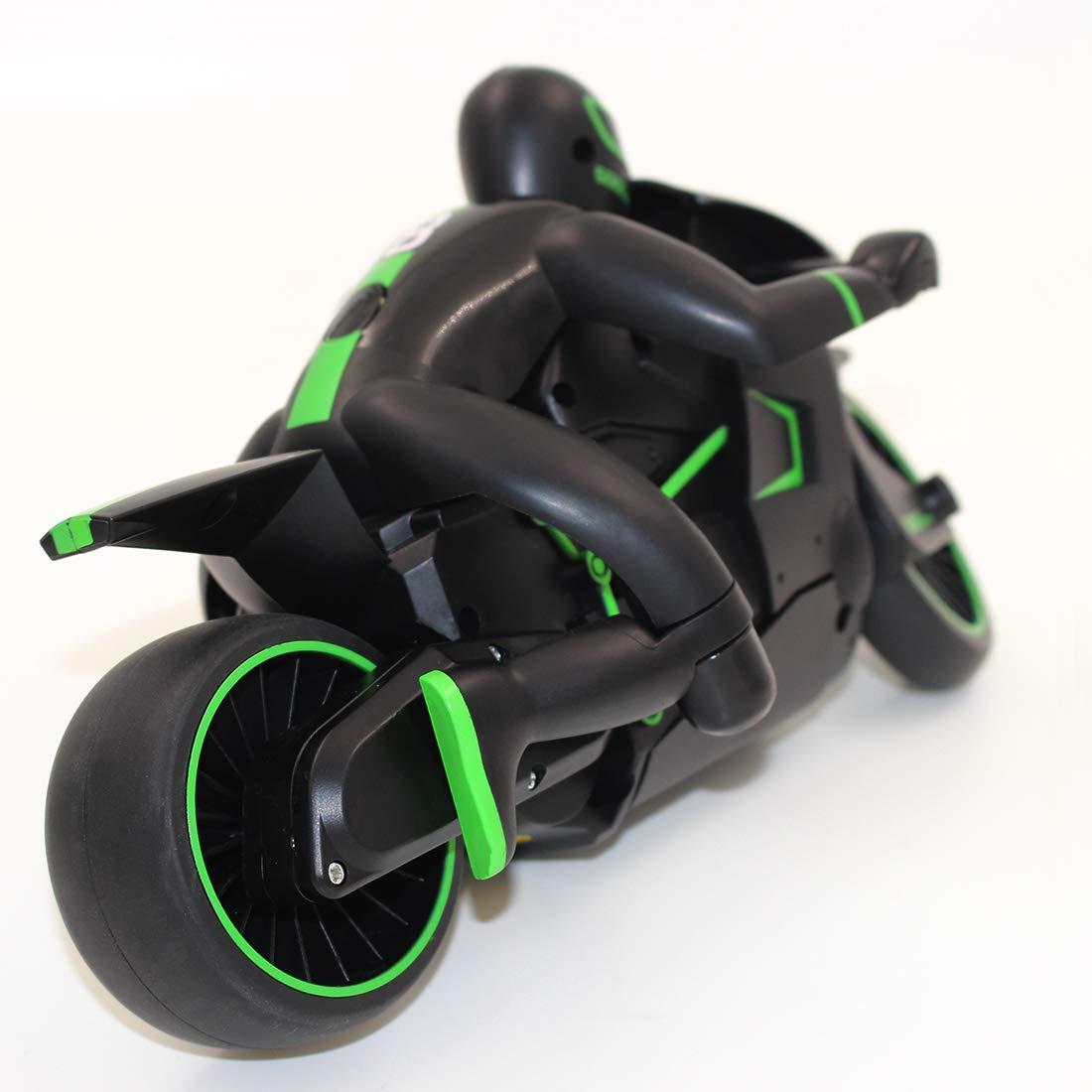 RC Motorrad High Speed Ferngesteuertes Motorrad 2,4 GHz Mini RC Auto Elektro-Rennwagen Funkgesteuertes Fahrzeug f/ür Innen und Au/ßen MAJOZ RC Motorrad Ferngesteuert