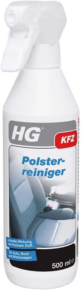Hg 159050105 Polsterreiniger 500 Ml Entfernt Flecken Und Reinigt Polster Im Auto Boot Und Wohnwagen Baumarkt