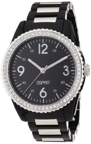 ESPRIT Women's ES105212001 Marin Disco Black Analog Watch